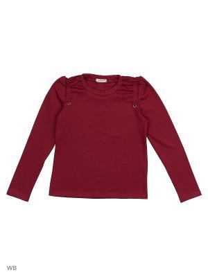 Блузка Агат. Цвет: бордовый