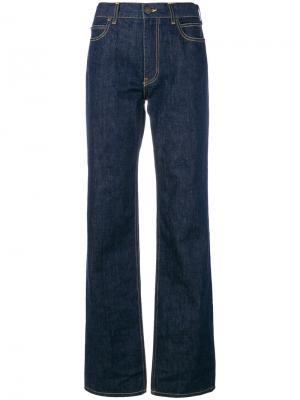 High waisted flared jeans Calvin Klein. Цвет: синий