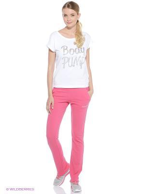 Брюки ANTA. Цвет: розовый