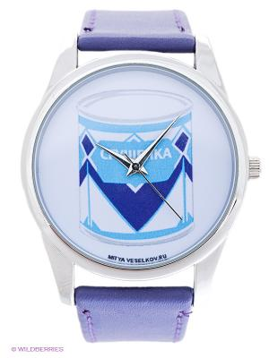 Часы Mitya Veselkov. Цвет: фиолетовый
