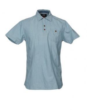 Pубашка DEUS EX MACHINA. Цвет: синий