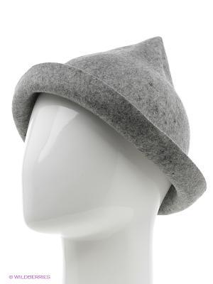 Шляпа To be Queen. Цвет: серый