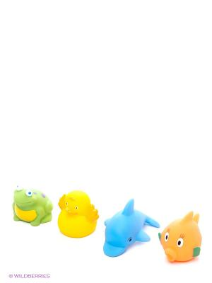 Пластизоль Набор Водный мир 4шт ЗАТЕЙНИКИ. Цвет: желтый
