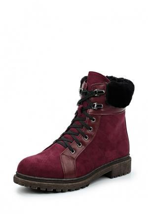Ботинки Bona Dea. Цвет: бордовый