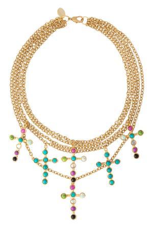 Ожерелье SYLVIA TOLEDANO. Цвет: разноцветный
