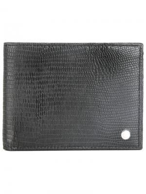 Классический бумажник Orciani. Цвет: чёрный