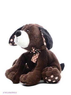 Собачка Кнопка Коричневая 23 См. MAXITOYS. Цвет: коричневый