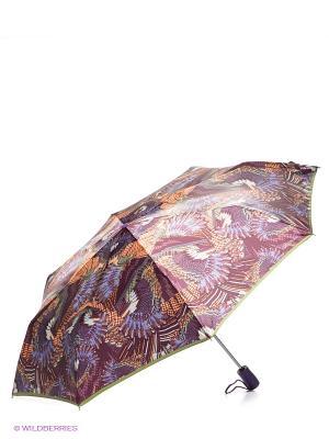 Зонт Eleganzza. Цвет: бордовый, фиолетовый