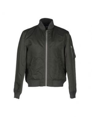 Куртка NLST. Цвет: зеленый-милитари