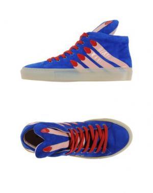 Высокие кеды и кроссовки MINNA PARIKKA. Цвет: ярко-синий