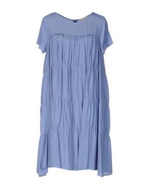 Короткое платье TROU AUX BICHES. Цвет: пастельно-синий