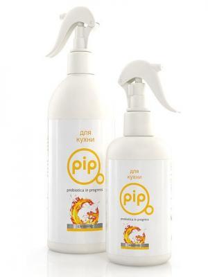 Экологичное чистящее средство PiP для  кухни, 500 мл. Цвет: белый