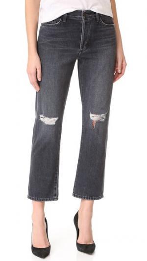 Укороченные прямые джинсы Jane B Siwy. Цвет: amen fashion