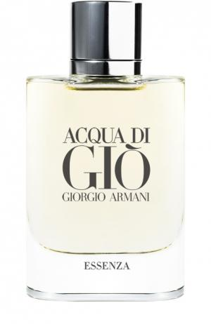 Парфюмерная вода Acqua Di Gio Essenza Giorgio Armani. Цвет: бесцветный