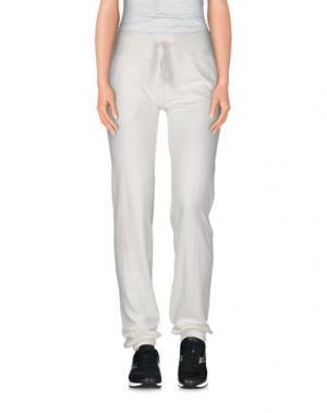 Повседневные брюки VINTAGE 55. Цвет: белый