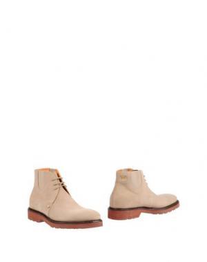 Полусапоги и высокие ботинки PACIOTTI 308 MADISON NYC. Цвет: песочный