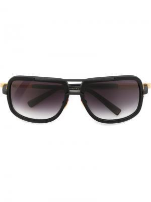 Солнцезащитные очки Mach One Dita Eyewear. Цвет: чёрный