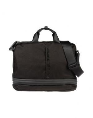 Деловые сумки MOMO DESIGN. Цвет: черный