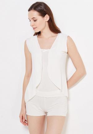 Пижама Luisa Moretti. Цвет: белый