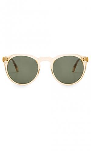 Солнцезащитные очки remmy 49 RAEN. Цвет: желтый