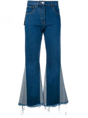 Расклешенные джинсовые брюки Misbhv. Цвет: синий