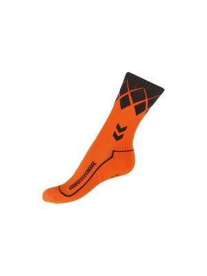 Носки  FIRE KNIGHT LOW INDOOR SOCK HUMMEL. Цвет: оранжевый