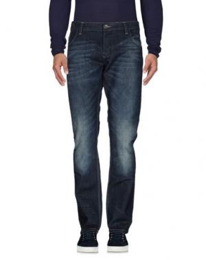 Джинсовые брюки FRANK Q. Цвет: синий