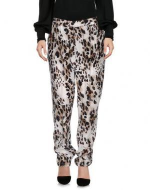 Повседневные брюки EQUIPMENT. Цвет: слоновая кость
