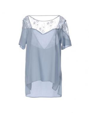 Блузка CALALUNA. Цвет: небесно-голубой