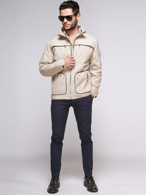 Куртка Nikolom. Цвет: бежевый