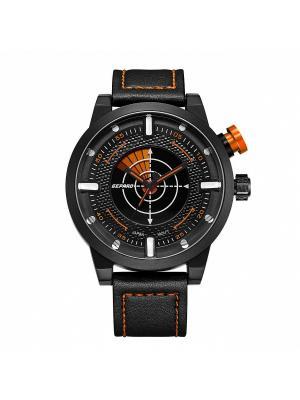 Часы GEPARD.. Цвет: оранжевый, черный