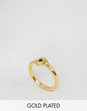 Ottoman Hands Кольцо с отделкой. Цвет: золотой