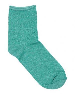 Короткие носки POLDER. Цвет: зеленый
