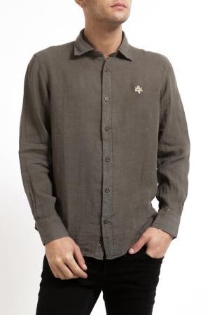 Рубашка Pierre Balmain. Цвет: khaki