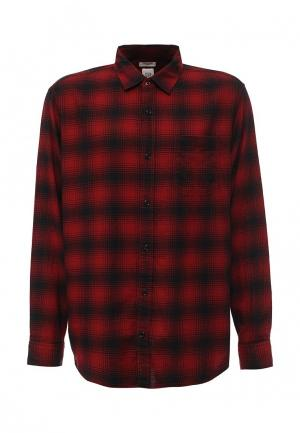 Рубашка Gap. Цвет: бордовый