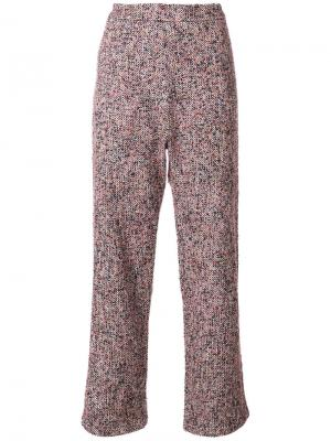 Твидовые брюки мешковатого кроя Humanoid. Цвет: многоцветный