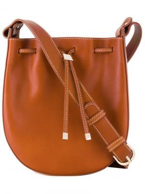 Drawstring shoulder bag Vanessa Seward. Цвет: коричневый