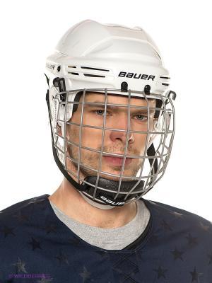Шлем с маской BAUER 2100 COMBO взрослый. Цвет: белый