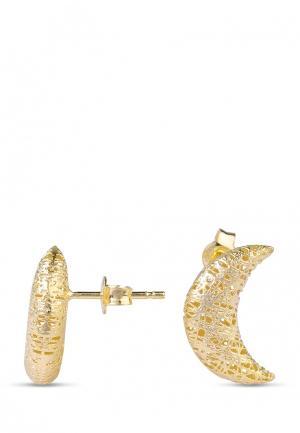 Серьги Vangold. Цвет: золотой
