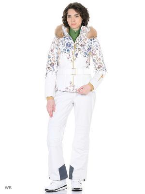 Куртка горнолыжная Stayer. Цвет: белый, кремовый