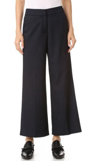 Юбка-брюки Julie до щиколотки James Jeans. Цвет: темно-синий
