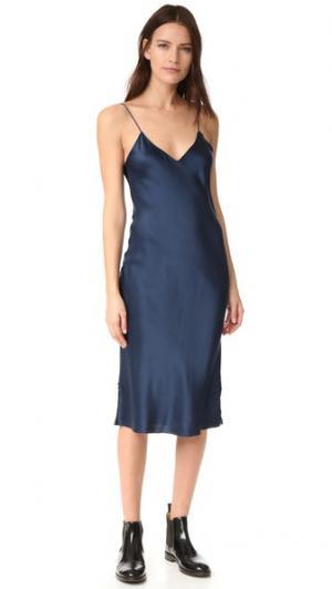 Платье-комбинация Hallie Emerson Thorpe. Цвет: дымчато-серый