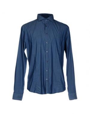 Pубашка Q1. Цвет: синий