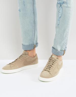 Nike Бежевые низкие кроссовки Blazer 371760-208. Цвет: бежевый