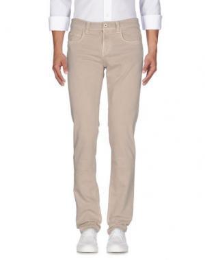 Джинсовые брюки LORO PIANA. Цвет: песочный