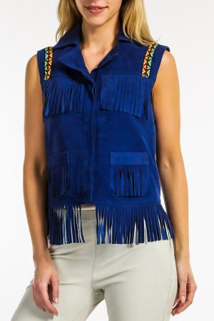 Блуза Ibana. Цвет: blue royal