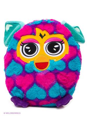 Плюшевая подушка, 30 см Furby. Цвет: фуксия, голубой