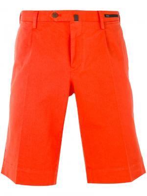 Классические шорты чинос Pt01. Цвет: жёлтый и оранжевый