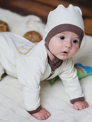 Комбинезон Lucky Child. Цвет: молочный