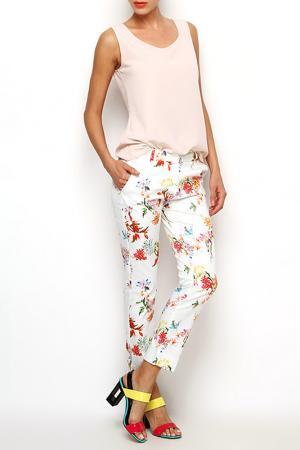 Брюки Ludomara fashion. Цвет: бежевый